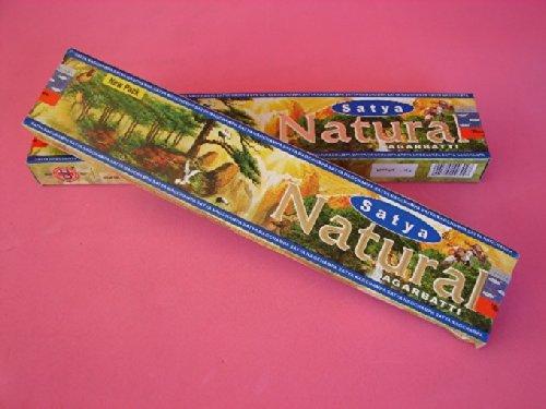 4 Boxes of Natural Satya Incense Sticks - Satya Natural Incense