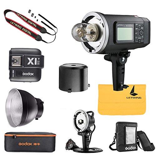 Godox V1-C Flash Speedlight for Canon Camera 76Ws 2.4G TTL Round Head 1//8000 HS,1.5 sec Recycle Time 260mAh Lithimu Battery 10 Level LED Modeling Lamp