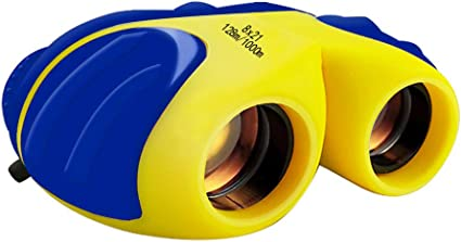 E/&W Compact Binoculars for Kids Best Gifts