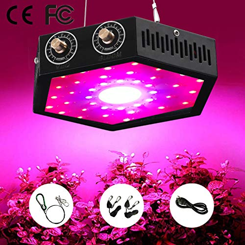 EONPOW 1000W COB LED Grow Light for Indoor Plant, Adjustable Full Spectrum Plant Light Growing Lamps with Veg and Bloom for Basement Planting. ()
