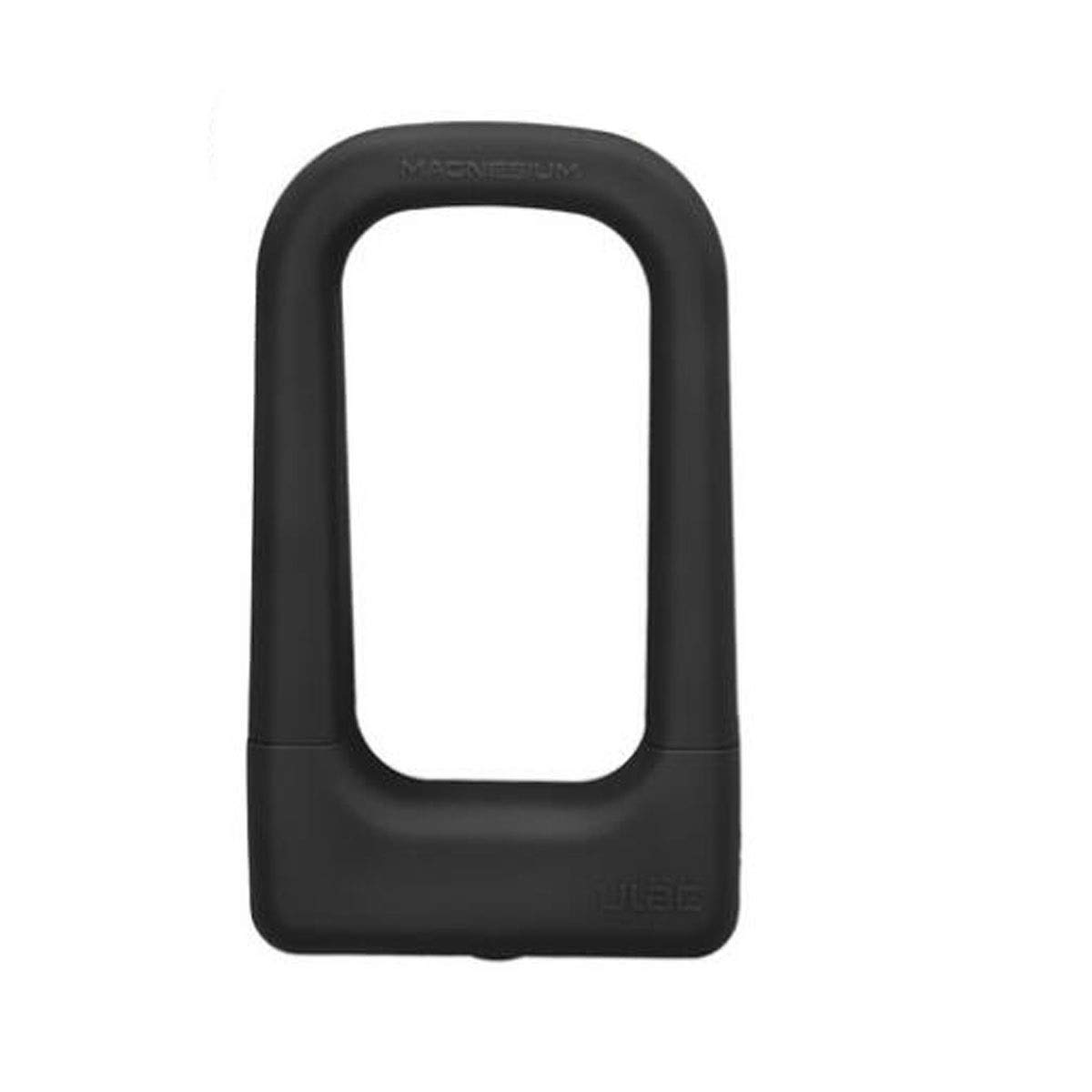8haowenju Sturdy and Practical U-Lock for Mountain Bikes, Electric Cars, Motorcycles, Size: 4.828 Inches, Color: Black, Blue, Orange (Color : Black)
