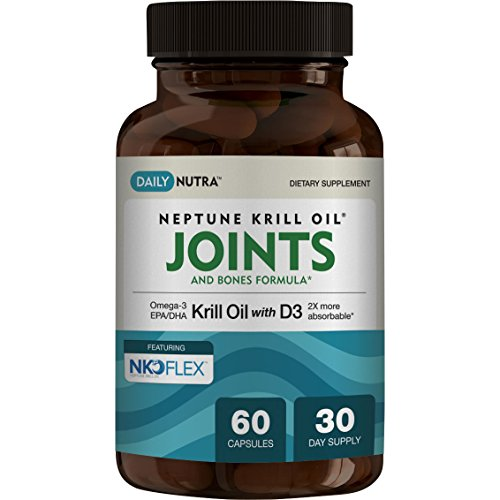 UPC 099461427334, Krill Oil Joints & Bones Formula with D3. Supports Joint Health, Strong Bones & Teeth