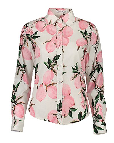 17 Basic Blouses Style Manche PengGeng Longue Chemise Casual Tee Shirt Fleurs Femme qwBvXPaE