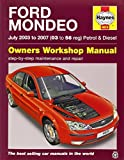 Ford Mondeo Petrol & Diesel (July 03 - 07) Haynes Repair Manual (Haynes Service and Repair Manuals) by Anon (2014-12-12)