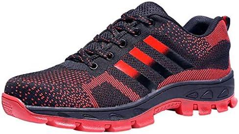 作業靴 軽量で消臭・防ダニの男性用シューズ、夏の通気性とパンク防止の作業靴、現場での耐摩耗性のアンチピアスシューズ 安全靴 (色 : G g, サイズ さいず : 44)