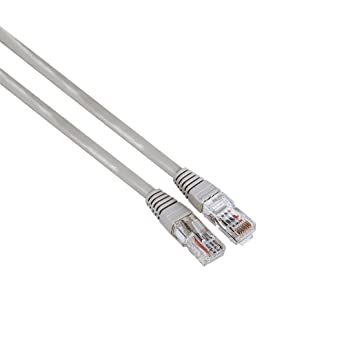 Hama 030622 - Cable de red RJ45 CAT5, 10 m, 1 unidad