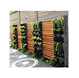 Delectable Garden 12 Pocket Hanging Vertical Garden Wall Planter For Yard Garden Home Decoration