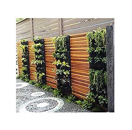 Amazon Com Delectable Garden 12 Pocket Hanging Vertical Garden Wall