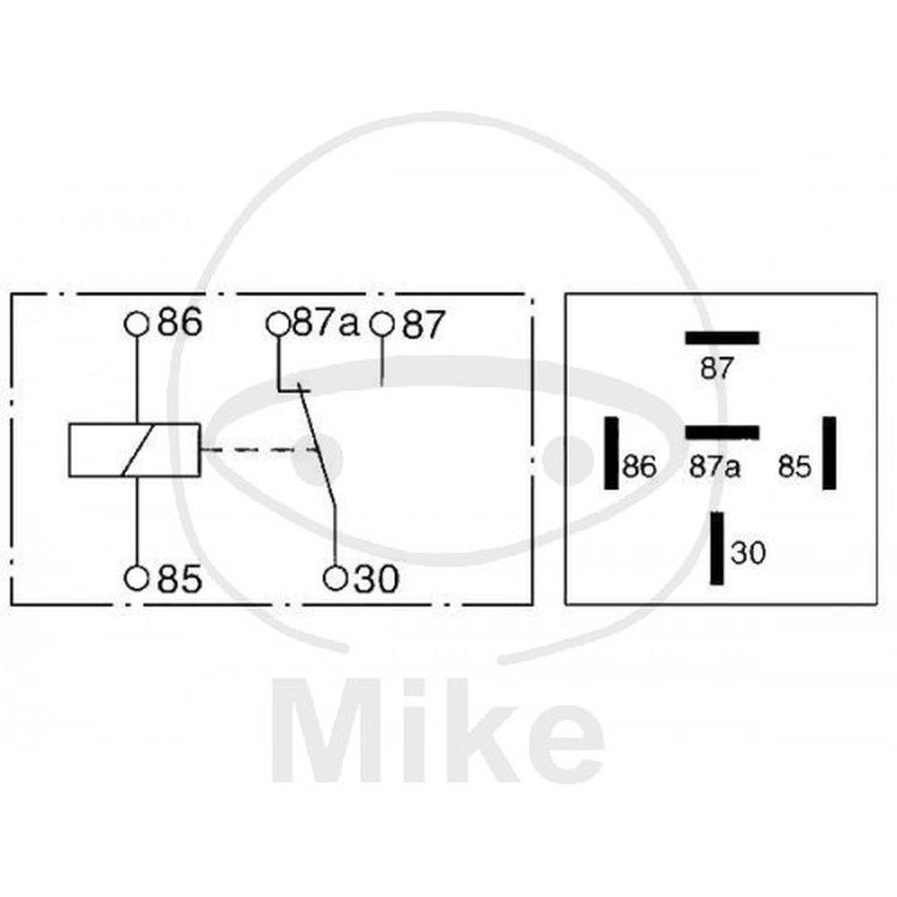 Bosch 0332209151 Relay Car Motorbike Liebherr Key Switch Wiring Diagram