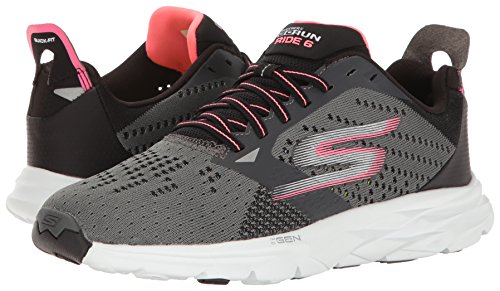 charcoal Multisport Skechers Outdoor Ride 6 Run Femme Chaussures Go Pink hot Gris Szxqrnz1XY