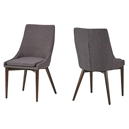 Fantastic Amazon Com Chelsea Lane Baxter Linen Side Chair Set Of 2 Cjindustries Chair Design For Home Cjindustriesco