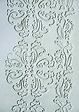 Xiem Rubber Art Roller, 2 in Dia X 7 in L, Baroque