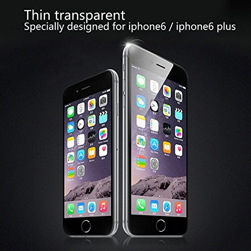 Haweel Zero Series TPU Case / Softcase Ultra-Dünn / Slim / Schutzhülle für Apple iPhone 6 Plus & 6S Plus in Transparent Blau