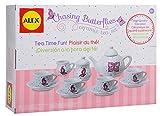 Alex Chasing Butterflies Ceramic Kids Tea Set, 13
