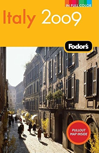 Fodor's Italy 2009 (Full-color Travel Guide)