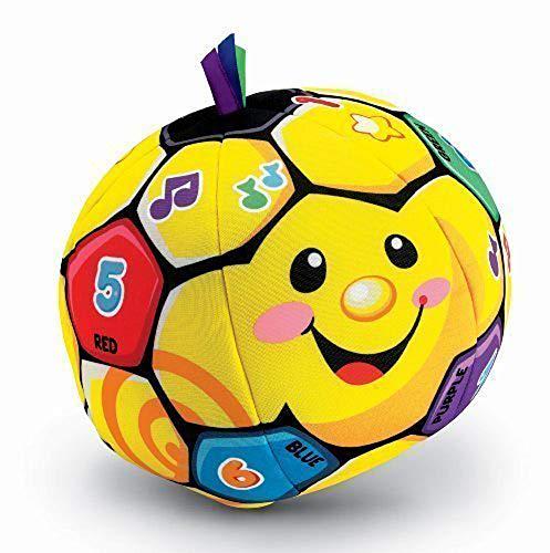 Soft Plush Soccer Ball - Fisher-Price Laugh & Learn Singin' Soccer Ball (Fisher Price Soccer)