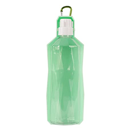 Eshall Botella de Agua para Perros, dispensador Portátil de Agua para Mascotas para Perros y