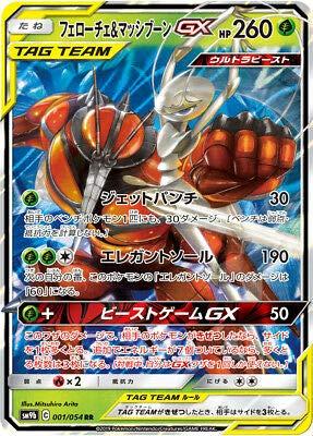 Amazon.com: pokemon card Pheromosa & Buzzwole GX RR SM9b ...