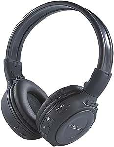 Auvisio MPH-232.SD - Auriculares de diadema Hi-Fi con reproductor MP3 y radio integrados