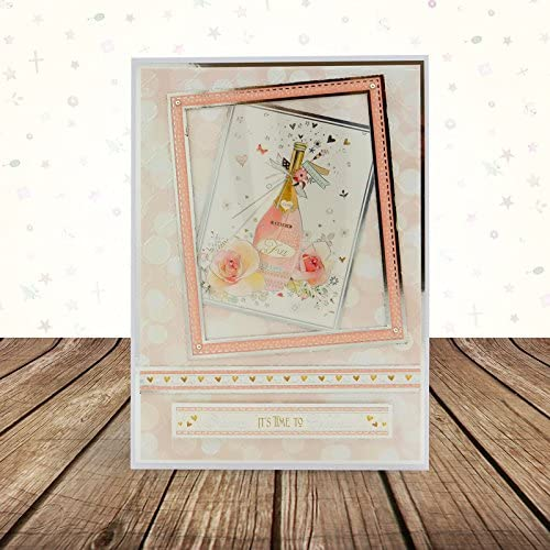Time to Celebrate HunkyDory Crafts Window to the Heart Topper Set Card Kit SSW904