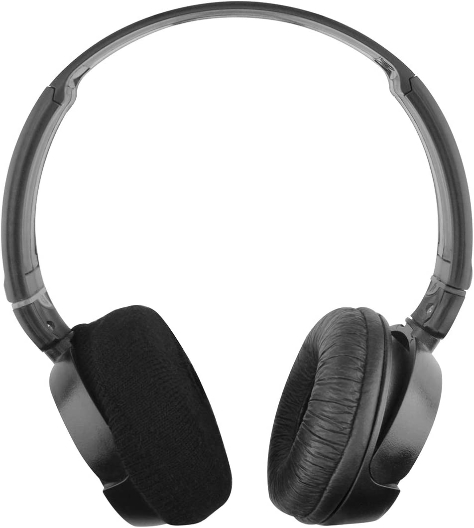 ZX110NC Black ZX600 ZX300 ZX330BT ZX310AP XB200 // Stretchable Knit Fabric Earcup Protectors//Fits 1.57-3.14 inches Headphones Geekria Sweater Earpads Cover for Sony WHCH500 ZX100 ZX110