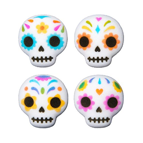 12 Ct. Day of the Dead Edible Sugar