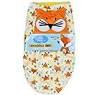 Little Beginnings Baby's Swaddle Sac & Hat Set (Orange) Fox