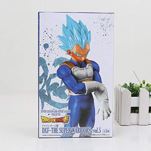 (Grocoto Action & Toy Figures - Dragon Ball Z The Super Warriors Super Saiyan 4 God SS vegetto vegito Blue Hair Dragonball Goku Bulma Collection Figure Toy 1 PCs)