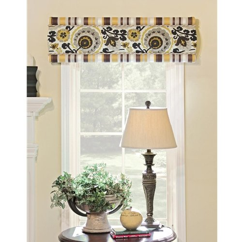 June Tailor No Sew Classic Cornice Custom Window Cornice