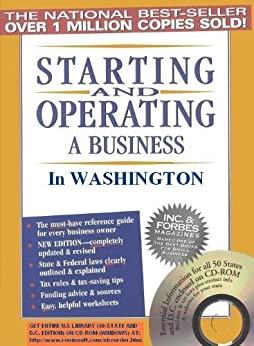 Starting and Operating a Business in Washington (Starting and Operating a Business in the U.S. Book 2017) by [Jenkins, Michael D.]
