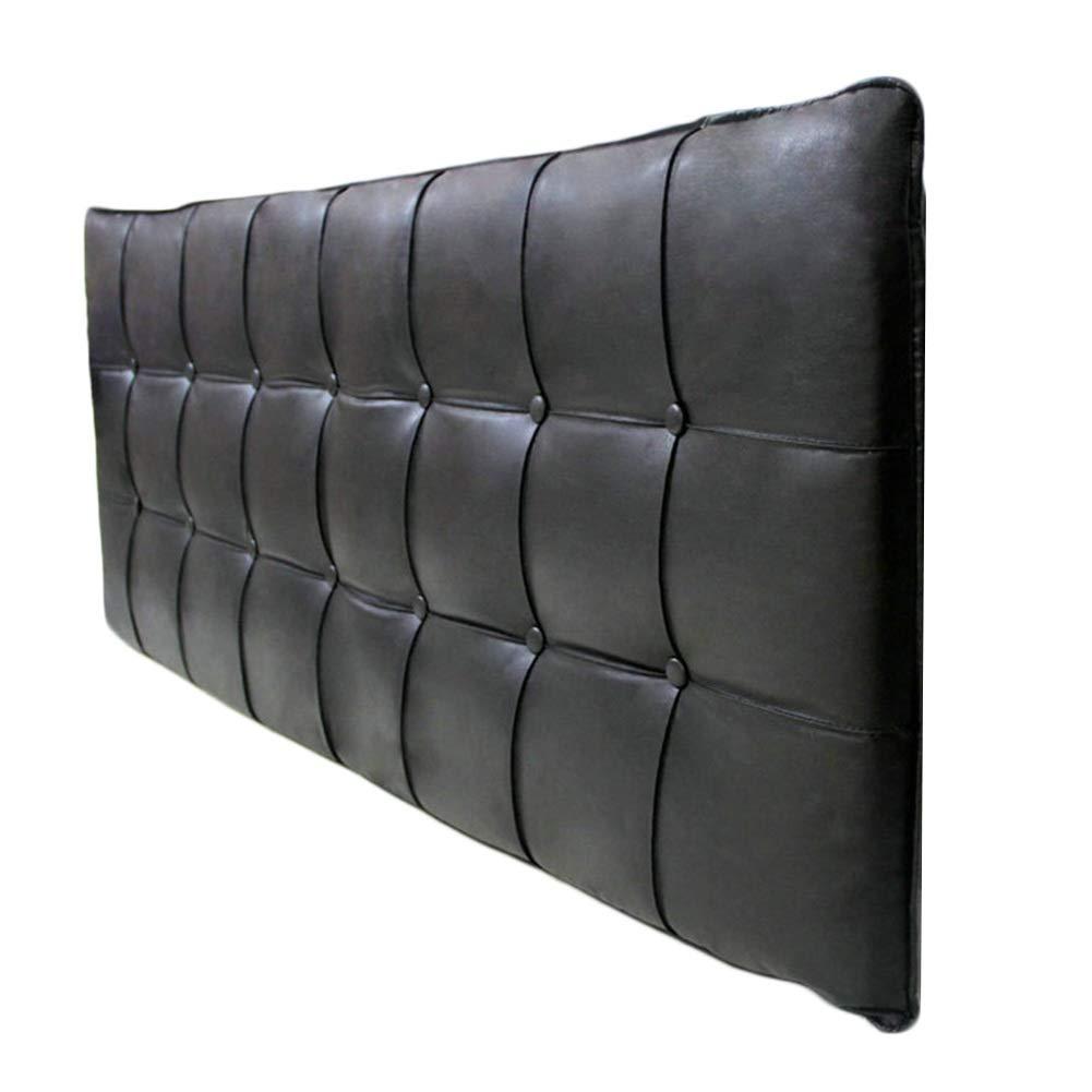 WENZHE クッションベッド 床用靠垫 ウェッジ ソフトケース ホーム ホテル 腰ベルト 背もたれ PU ソフトケース、 6色 (Color : A, Size : 120x60cm) B07SNWQB5J A 120x60cm