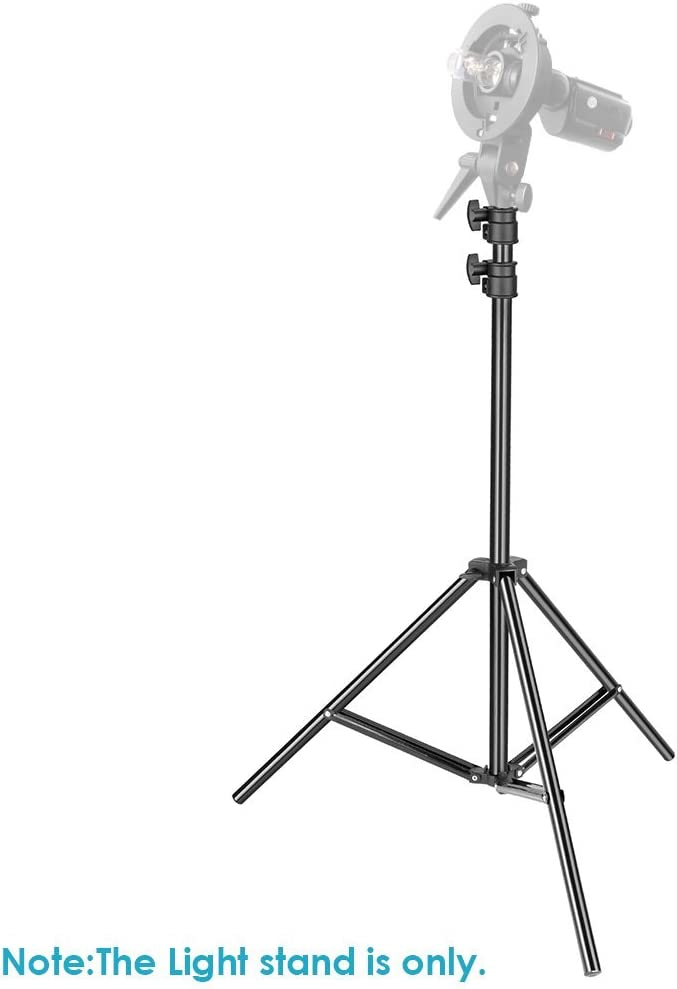 Neewer Soporte de Luz para Trabajo Pesado, 92-200cm Soporte ...