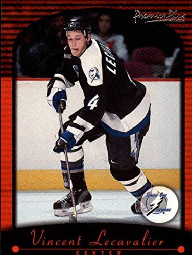 (2000-01 Topps Premier Plus Tampa Bay Lightning Team Set 4 Cards Vincent Lecavalier)