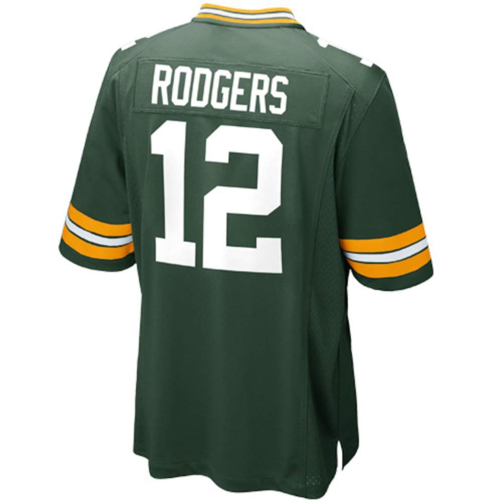 TOU DLE Men's Women's Youth_Aaron_Rodgers_Green_Game_Jersey