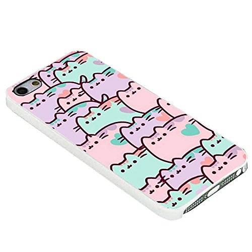 Pusheen Backgrounds for Iphone Case (iPhone 6S plus white)