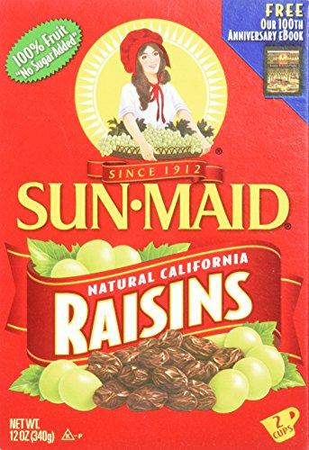 Sun-Maid Raisins Box, 12 oz