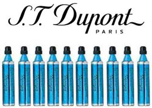S.t. Dupont Gas Refill - Blue, Ligne 8 Series, Ligne D & Urban TEN Pack by S.T. Dupont (Image #1)