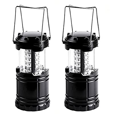 Military Tough Tac Light Collapsible LED Tactical Lantern For Hiking Camping Home Power Outages or Other Emergencies - Get 2 for Only $19.95