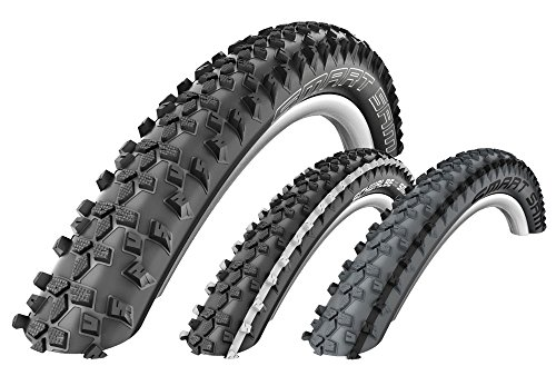 SCHWALBE Smart Sam 26'' MTB tyre Performance, 26 x 2,25, ORC, striped, wire white by SCHWALBE