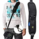 Adjustable Camera Neck Strap with Quick Release Plate, Comfortable Long Sling Shoulder Belt