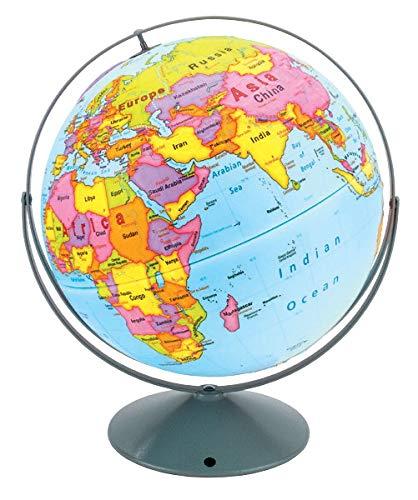 Nystrom Readiness Raised Relief Globe (Nystrom Raised Relief Map Of The World)