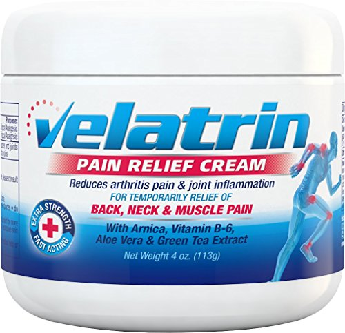 thritis Pain Relief Cream (Extra Strength) Relieves - Joint, Knee, Back & Neck Pain With Arnica, Vitamin B6, Aloe Vera Gel & Green Tea Extract. (Aloe Vera Pain Relief)