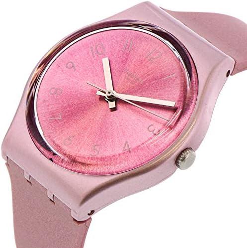 Swatch Women's So Pink GP161 Silicone Quartz Fashion Watch