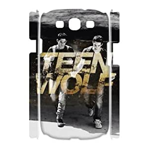 3D Bloomingbluerose Teen Wolf Samsung Galaxy S3 Case Dylan(Stiles) Tyler(Scott) Teen Wolf Cute for Girls, Samsung Galaxy S3 Cases for Women Cute for Girls [White]