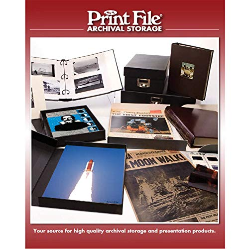50 Sheets Print File 120 Film Negatives Photo Pages Sleeves Archival Preservers by Print File (Image #2)