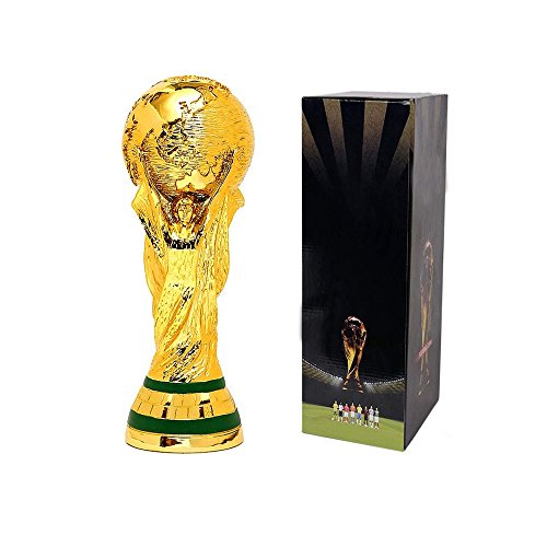 d,Gold-Plated,World Cup Trophy Model, 5 Inches Tall ()