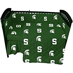 College Covers Michigan State Spartans 5 piece Baby Crib Set
