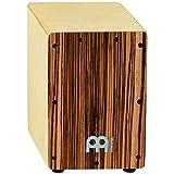 Meinl Percussion SCAJ1NT-EZ Mini Cajon, Exotic Zebrano (8 3/4-Inch Tall)