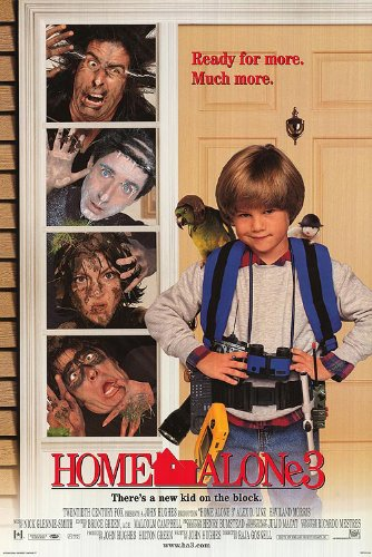 HOME ALONE 3 MOVIE POSTER 2 Sided ORIGINAL FINAL 27x40