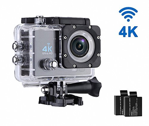 Geekerbuy 4K Sports Camera Action Camera 16MP 170° Wide Angle WiFi Sony Sensor with Accessories Kit